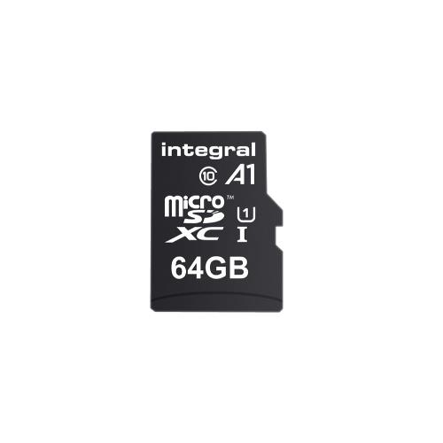 INMSDX64G10-A1 SDHC Geheugenkaart UHS-I 64 GB
