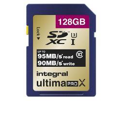 INSD128GU SDHC Geheugenkaart 10 / U3 / UHS-I 128 GB
