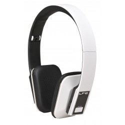 LTC Audio Hdj150bt-wh draadloze opvouwbare bluetooth hoofdtelefoon