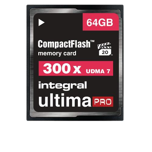 INCF64G300W CF Compact Flash Geheugenkaart 6 64 GB