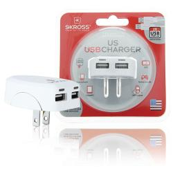 Skross 1302730 Reisadapter USA USB Ongeaard