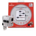 Skross 1.103141 Reisadapter Wereld PRO Geaard