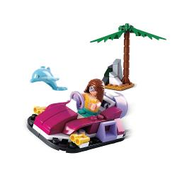 Sluban M38-B0600A Bouwstenen Girls Dream Serie Hovercraft