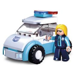 Sluban M38-B0600B Bouwstenen Girls Dream Serie Police Woman with Police Car