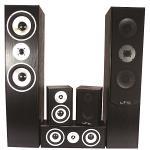 LTC Audio E1004BL 5.0 home theater systeem - zwart (0)