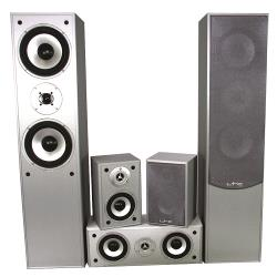 LTC Audio E1004SI 5.0 home theater systeem - zilver (0)