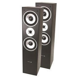 LTC Audio L766-BL 3-weg hifi bass reflex luidsprekers 350w - zwart (0)