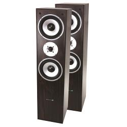 LTC Audio L766-WA 3-weg hifi bass reflex luidsprekers 350w - walnoot (0)