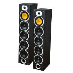 LTC Audio V7B-BL 4-weg hifi kolomluidsprekers - zwart (0)