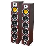 LTC Audio V7B-MA 4-weg hifi kolomluidsprekers - mahonie (0)