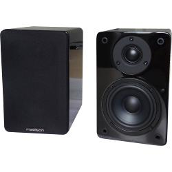 Madison MAD-BS4BL Hi-fi bibliotheek speakers 60w (0)