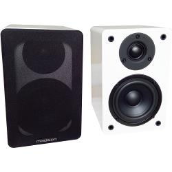 Madison MAD-BS4WH Hi-fi bibliotheek speakers 60w (0)