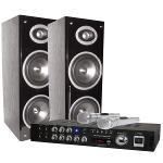 LTC Audio KARAOKE-STAR3-BT Karaoke set met digitaaldisplay + bluetooth (0)
