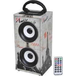 LTC Audio FREESOUND-PARIS Stand-alone luidspreker met usb/sd/aux/bluetooth/fm (0)