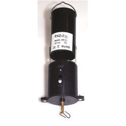 Ibiza Light MB15 Motor op batterijen voor spiegelbol (0)