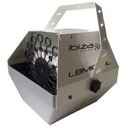 Ibiza Light LBM10-WH Draagbare bellenblaasmachine wit (0)
