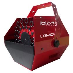 Ibiza Light LBM10-RE Draagbare bellenblaasmachine rood (0)