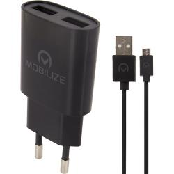Mobilize 23118 Universele AC Stroom Adapter USB / Micro-USB
