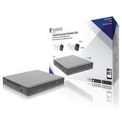 König SAS-AHDSET02 CCTV-Set HDD 1 TB - 2x Camera