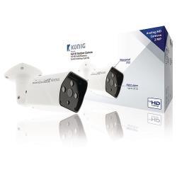 SAS-AHDCAM12 Bullet Beveiligingscamera Wit