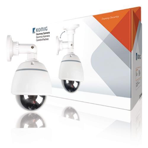 SAS-DUMMY210W Dome Dummy Camera IP44 Wit