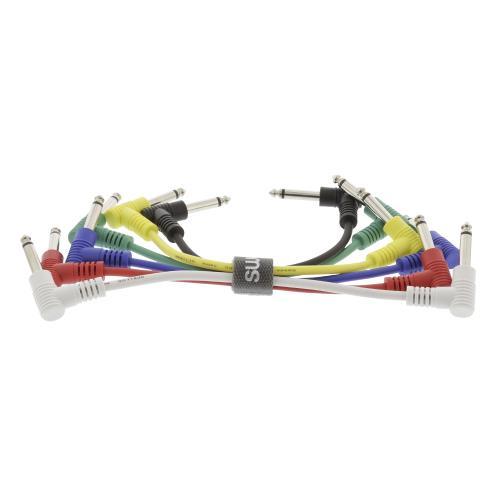 Sweex SWOP23010E015 Mono Audiokabel 6.35 mm Male - 6.35 mm Male 0.15 m Donkergrijs