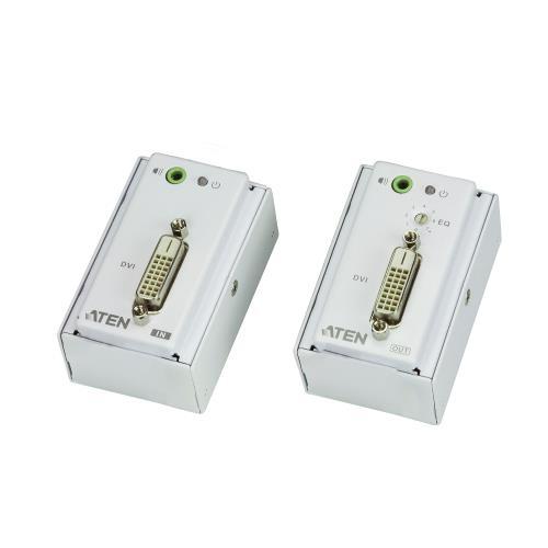 VE607-AT-G DVI / Audio Cat5 Verlenger 40 m