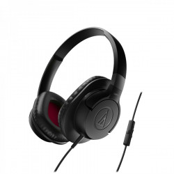 Audio Technica ATH-AX1IS portable hoofdtelefoon zwart