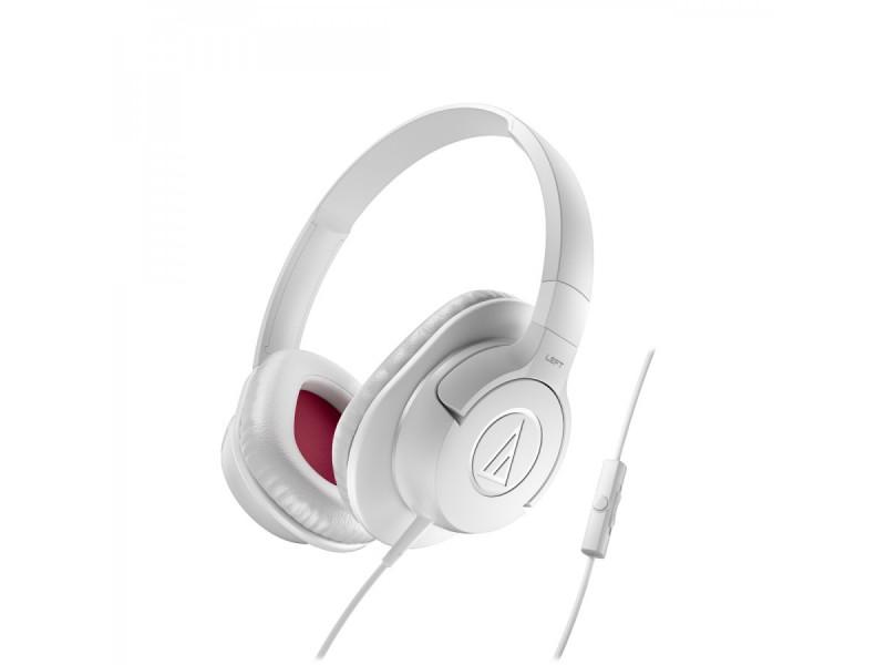 Audio Technica ATH-AX1IS portable hoofdtelefoon wit