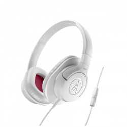 Audio Technica ATH-AX1IS portable hoofdtelefoon wit