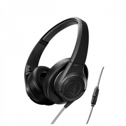 Audio Technica ATH-AX3IS portable hoofdtelefoon zwart