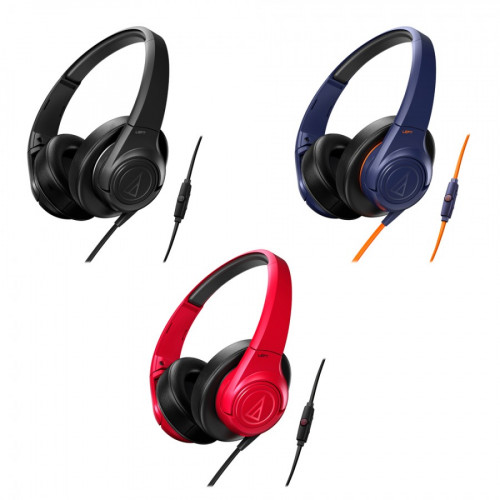 Audio Technica ATH-AX3IS portable hoofdtelefoon kleuren