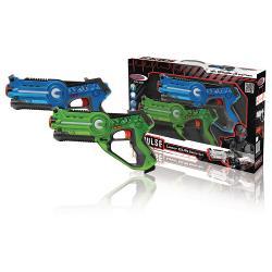 Jamara 410036 Lasergevecht-Set Blauw/Groen