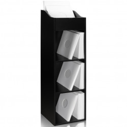 Zomo VS-Box 100/4 Zwart platenkast gevuld