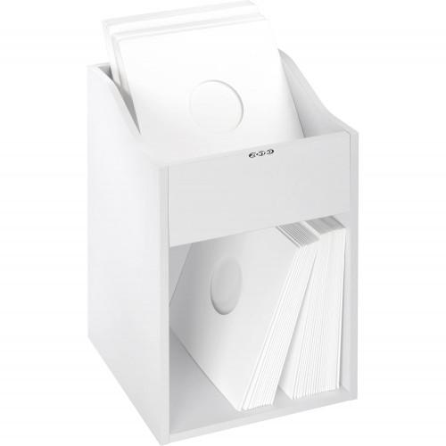 Zomo VS-Box 100/2 wit platenkast gevuld