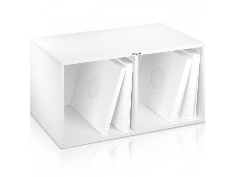 Zomo VS-Box 200 wit platenkast gevuld