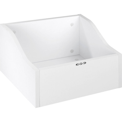 Zomo VS-BOX 100/1 platenkast wit leeg