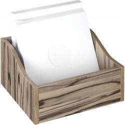 Zomo VS-BOX 100/1 platenkast zebrano gevuld