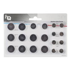 HQ HQCRLR/20BL Lithium/Alkaline Knoopcelbatterij CR2016 / CR2032 / CR2025 / CR1620 / LR43 / LR54 / LR44 20-Blisterkaart