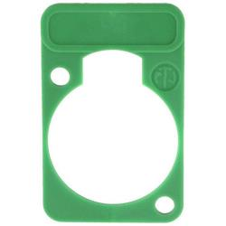 Neutrik DSS-5 Colour-coded marking plate Groen