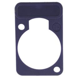Neutrik DSS-7 Colour-coded marking plate Violet