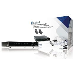 König SAS-SETDVR35 CCTV-Set HDD 500 GB / 700 TVL - 2x Camera