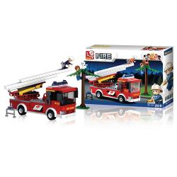 Sluban M38-B0625 Bouwstenen Fire Serie Ladderwagen