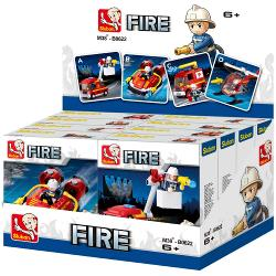 Sluban M38-B0622 Bouwstenen Fire Serie