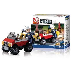 Sluban M38-B0621 Bouwstenen Fire Serie