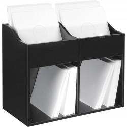 Zomo VS-Box 200/2 platenkast zwart gevuld