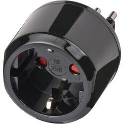 Brennenstuhl 1508470 Reisadapter Combo - Wereld-naar-Italië Geaard