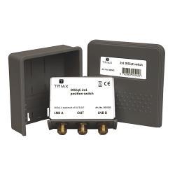Triax 300513 DiSEqC-Switch 2/1 900-2150