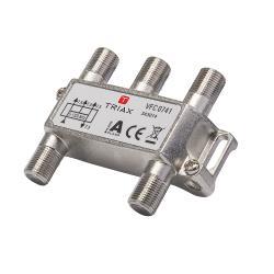 Triax 343014 Satelliet Splitter 8.3 dB / 5-1218 MHz - 4