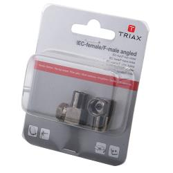 Triax 153024 Antenne Adapter F-Connector Female - F-Connector Male Aluminium